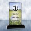 Sublimational Beveled Impress Acrylic Award - Large