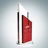 Red Success Award   Optical Crystal