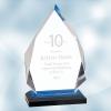Blue Diamond Impress Acrylic Award (S)