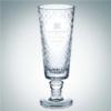 Diamond Net Vase   Lead Crystal