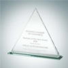 Triangle with Base | Jade Glass - Small