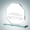 Octagon with Base | Jade Glass