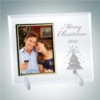 Vertical Gold Photo Frame with Stand | Jade Glass