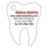Tooth Shaped Key Tag