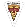 Pizza Shaped Key Tag
