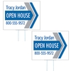 Large Corrugated Yard Sign - 1 or 2 Colors - 2 Sides