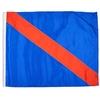 Move To Outside Individual Nylon Auto Racing Flags W/ Pole Sleeve