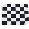 End Of Race Individual Nylon Auto Racing Flags W/ Pole Sleeve