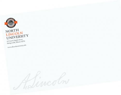 Legal Tab Portfolio Mailer Envelope