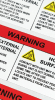 24 Hour FasTurn® Rectangle Labels (1