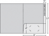 Class 1 Stock Standard 1 Pocket Folder w/1 Reinforced Edge