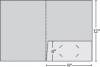 Class 1 Stock Standard 1 Pocket Folder w/Square Pocket