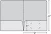 Class 1 Stock Standard 2 Pocket Folder w/Rounded Corners