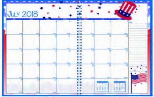 Monthly Seasonal Calendar Year Planner
