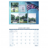 Full-Color Custom Wire Bound Wall Calendar