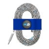 Toddy Tie Organizer and Cable Kit - USB-C to USB (Blue)