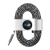 Toddy Tie Organizer and Cable Kit - USB-C to USB (White)