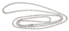 Neck Straps and Bead Chains - Nickel Plated Bead Chain - (36