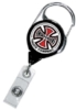 Premium Retractable Reels - No - Twist Carabiner Reel