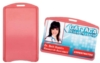 The Pink Page - Soft Plastic Pink Card Holders - Horizondal - New