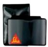 Color Vinyl Badge Holders - Magnetic Badge Holder with Pocket Flap - vertical