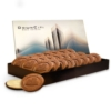 24 Cookies Topped w/Chocolate in Large Box