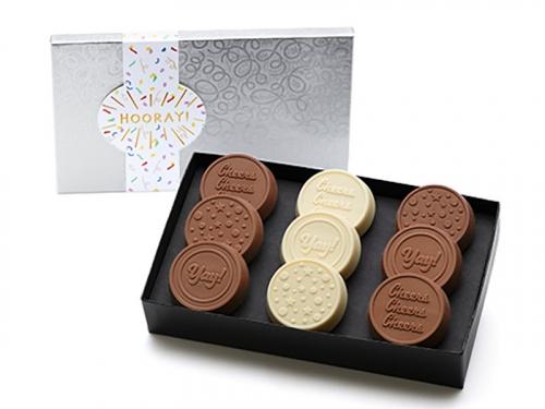 New! 9-Pack Celebration Chocolate Dipped Oreos