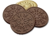 Snowflake Dark Chocolate w/Mint Cookie