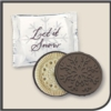 Snowflake Dark Chocolate Cookie
