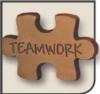 Teamwork Chocolate Puzzle Piece