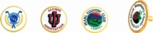 Vibraprint™ Golf Ball Marker (7/8