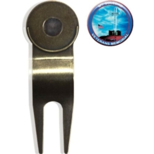 Vibraprint™ Econo Golf Divot Tool w/ Ball Marker