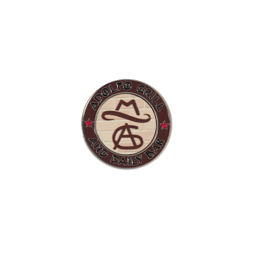 Texture Tone™ Golf Ball Marker Coin w/ Magnetic Ball Marker
