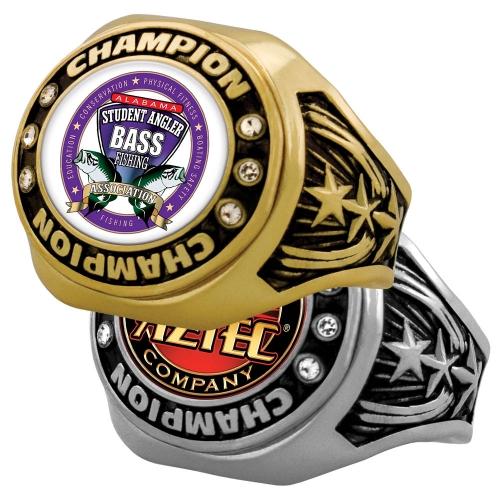 Vibraprint™ Bright Star Championship Rings