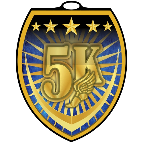 Vibraprint™ Shield 5K Medallion (3