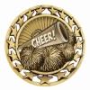 Antique Cheerleading Star Medal (2-1/2