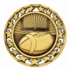 Antique Football Star Medal (2-1/2