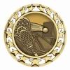 Antique Lacrosse Star Medal (2-1/2