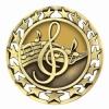 Antique Music Star Medal (2-1/2