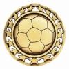 Antique Soccer Star Medal (2-1/2