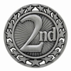 Antique 2nd Place Star Medal (2-1/2
