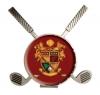 Vibraprint™ Cross Club Golf Hat Clip w/ Ball Marker