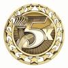 Antique 5K Star Medal (2-1/2