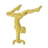 Gymnast (Female) Chenille Lapel Pin