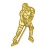 Ice Hockey Chenille Lapel Pin