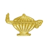 Lamp Of Knowledge Chenille Lapel Pin