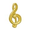 Music Symbol Chenille Lapel Pin