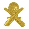 Crossed Rifles Chenille Lapel Pin