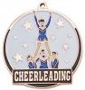 Bright Gold Cheerleader High Tech Medallion (2