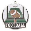 Bright Gold Football High Tech Medallion (2